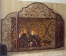 San Pacific Provincial Fireplace Screen