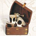 Pelican Bay Nautical Gifts BW-659 Lifeboat Sextant with Wooden Box