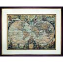 Authentic Models 1735 World Map