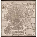 Authentic Models 1676 Rome Map