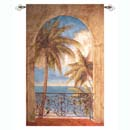 Palms Nautical Tapestry