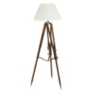 Authentic Models Campaign Tripod Lamp