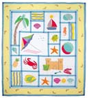 Summer Fun Quilt and Pillow Shams