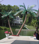 Island Artificial Palm Tree